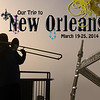 2014 - New Orleans : Our escape from the wintry Mid-Atlantic to Cajun Country.